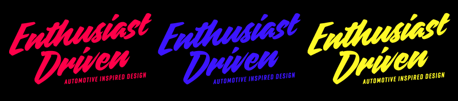 Enthusiast Driven Banner
