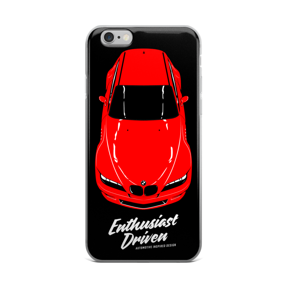 Z3 Amp M Coupe Iphone Case Enthusiast Driven Automotive